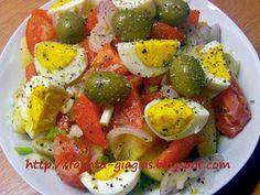 Πατατοσαλάτα καλοκαιρινή με αυγά - από «Τα φαγητά της γιαγιάς»