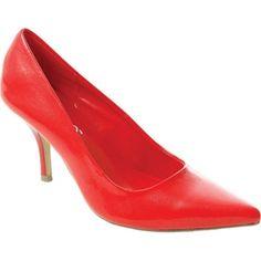 Adi Designs Angel 2 Kitten Heels Womens Red - ONLY $49.95