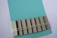 How to pleat paper! Very neat #tutorial for your #paper #crafts