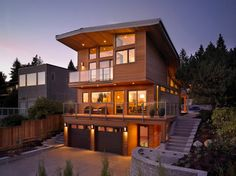 West Van Modern Tranquility - modern - Exterior - Vancouver - My House Design Build Team