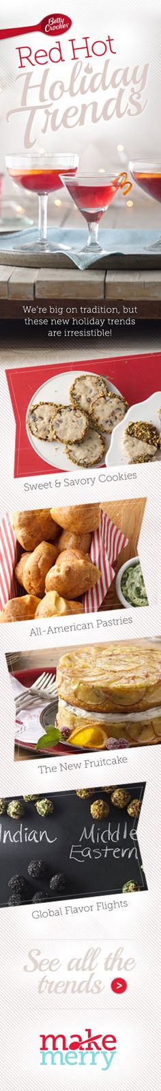 Betty Crocker's 2013 Red Hot Holiday Trends
