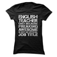 az English Teacher - #mens shirt #online tshirt design. LIMITED TIME  => https://www.sunfrog.com/No-Category/az-English-Teacher-Black-bmj9-Ladies.html?id=60505
