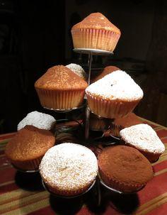 A Tavola con Mammazan: muffin con gocce di cioccolato...1.2.3