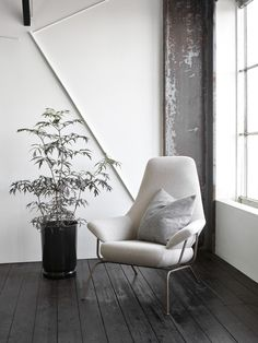 New Fall 2015 Collection by Hem - The Hai chair dazzles in new colours and materials: Hai Chair grey melange