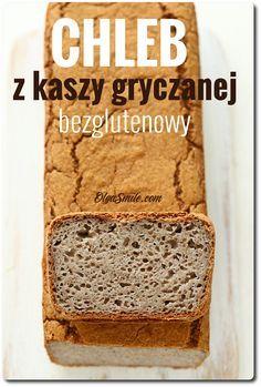 Bread with groats Buckwheat - Buckwheat bread Buckwheat Bread, Vegan Bread, Gluten Free Cakes, Gluten Free Baking, Foods With Gluten, Sans Gluten, Good Food, Yummy Food, Wonderful Recipe