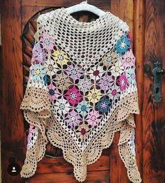 Exceptional Stitches Make a Crochet Hat Ideas. Extraordinary Stitches Make a Crochet Hat Ideas. Poncho Au Crochet, Crochet Shawls And Wraps, Crochet Scarves, Crochet Doilies, Crochet Clothes, Crochet Stitches, Crochet Patterns, Stitch Crochet, Crochet Woman