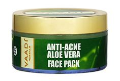 Herbal Face Pack Cream  All Natural  Paraban Free  Sulfate Free  Good for All Skin Types Oily Dry Normal Sensitive  247 Oz  Premium Quality  Vaadi Herbals AntiAcne Aloe Vera Face Pack * More info could be found at the image url.