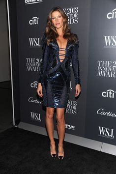 "Gisele Bundchen Model Gisele Bündchen attends the WSJ. Magazine's ""Innovator Of The Year"" Awards 2013 at The Museum of Modern Art on Novembe..."