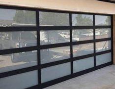 Anodized & Powder coat Aluminum Glass Garage doors by Garage doors 4 Less. Glass Garage Door, Garage Door Opener, Garage Doors, Garage Door Spring Repair, Garage Door Springs, Canoga Park, Powder, Windows, Coat