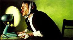 Obra del pintor hiperrealista australiano Jeremy Geddes. Nos encanta su trabajo.