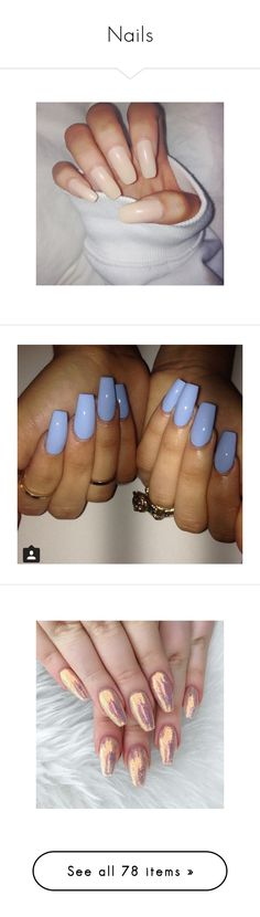 """""""Nails"""" by fam0us-e ❤ liked on Polyvore featuring beauty products, nail care, nail treatments, nails, makeup, nail polish, instagram filler, unhas, beauty and accessories"""