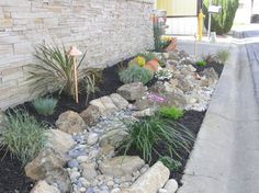 Dry river bed. Landscape Design Ideas, Pictures, Remodels and Decor