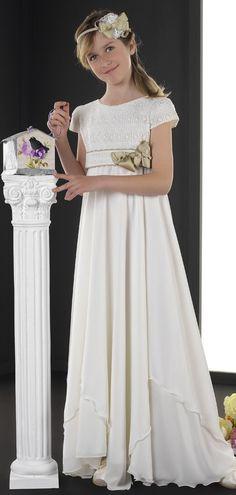 $97.35-A-Line Scoop-Neck Short-Sleeve Floral Long Flower Girl Dress/ Little Girl Wedding Dress. http://www.ucenterdress.com/a-line-floor-length-scoop-neck-short-sleeve-floral-flower-girl-dress-with-lace-pMK_400007.html.  Shop for best flower girl dress, baby girl dress, girl party dress, gowns for girls, dresses for girl, children dresses, junior dress, pageant dresses for girls We have great 2016 fall Flower Girl Dresses on sale. Buy Flower Girl Dresses online at UcenterDress.com!