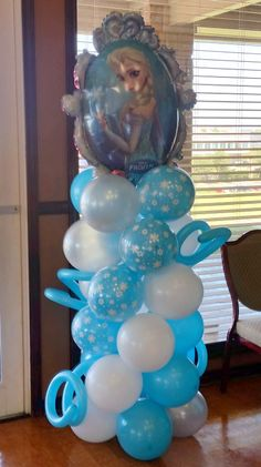 frozen balloon columns - Google Search