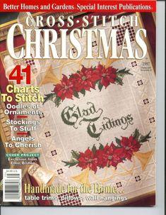 Gallery.ru / Фото #1 - BHG CS CHR 1997 - natalytretyak Cross Stitch Tree, Cross Stitch Patterns, Christmas Cross, Christmas Holidays, Cross Stitch Magazines, Handmade Table, Country Crafts, Cross Stitching, Needlepoint