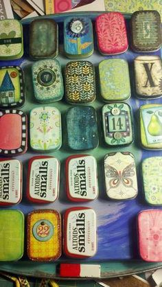 altoid tin advent calendar (pic monstrous) - OCCASIONS AND HOLIDAYS