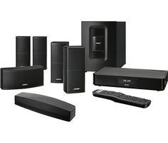 Bose® - SoundTouch® 520 Home Theater System - Black - Front Zoom