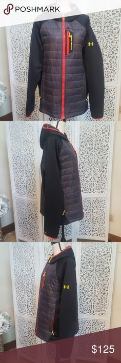 Under Armour Coldgear Infrared Jacket Men's Under Armour Coldgear Infrared Jacket in an extremely rare color pattern. Like new condition, worn less then a handful of times. PRICE FIRM. Under Armour Jackets & Coats