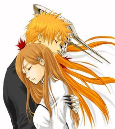 orihime and ichigo - ichigo-and-orihime Photo