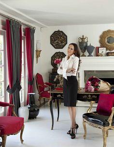 Ruth Burts Interiors: Bring the Glamour: Mary McDonald