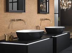 Aufsatzwaschbecken aus TitanCeram ARTIS COLOR LINE by Villeroy & Boch Design GESA HANSEN