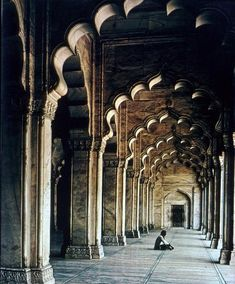 Moti Masjid/Pearl Mosque (Agra, India)