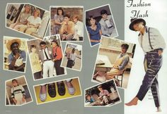 "The high school fashions of 1986, in the ""Blue and Grey"" yearbook of Robert E. Lee high school in Jacksonville, Florida.  #RobertELee #yearbook #BlueAndGrey #1986 #fashion"