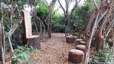 Forest schools from Infinite Playgrounds take learning outside, creating an educational setting that is at one with nature. Find out more today! Forest Classroom, Outdoor Classroom, Natural Outdoor Playground, Forest School Activities, Preschool Activities, Playground Design, Playground Ideas, Garden Nursery, Relax