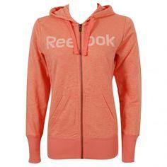 Tony Pryce Sports - Reebok Element Full Zip Women's Hoody Light Orange | Intersport