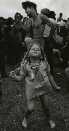 """Woodstock - """"my Dad took me to this place with a million people. i think it was called Woodstock"""""""