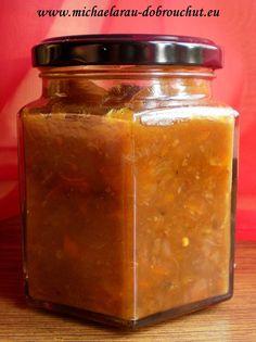 Dobrou chuť: Ovocné čatní s dýní Salsa, Jar, Food, Essen, Salsa Music, Meals, Yemek, Jars, Eten