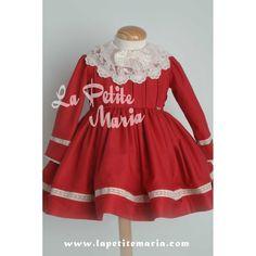 Vestido vuelo colección Majestic. Temporada Otoño Invierno 2015-2016 de La Amapola Alta Costura Infantil