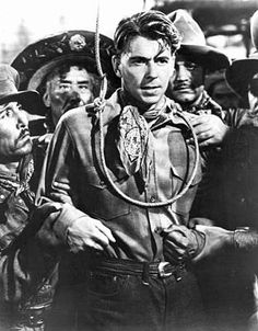 Actor Ronald Reagan in a scene from the Western movie, 'The Bad Man,' Hollywood, California, circa Old Western Actors, Western Film, Western Movies, Old Movies, Vintage Movies, Vintage Posters, Vintage Stuff, Movie Posters For Sale, Film Posters