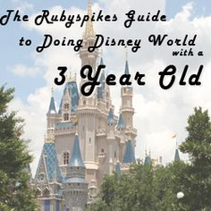 The Rubyspikes Guide to Doing Disney World with a 3 Year Old