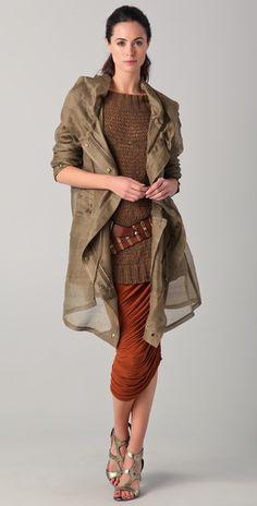 Donna Karan   Chocolate Knit