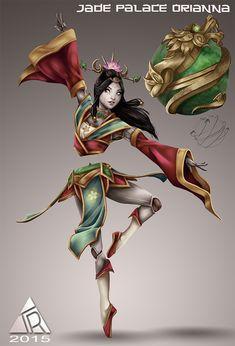 Jade Palace Orianna - League of Legends