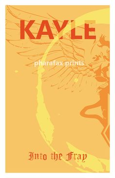 Kayle League of Legends Print by pharafax on Etsy, $16.00