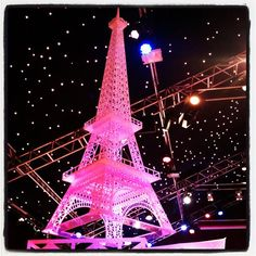 pink Eiffel Tower Pink Love, Cute Pink, Pretty In Pink, Pastel House, I Believe In Pink, Paris Love, Pink Houses, Everything Pink, Tower