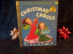 Christmas+Carols+Vintage+Childrens+Book+by+by+DecrepitudeAplenty,+$10.00