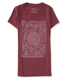 If too many style options leave you feeling twisted up and turned around, relax and let our Aero Tapestry Graphic T put your mind at ease!