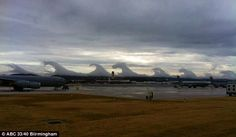 Wave clouds.  Strange but cool.  Google Image Result for http://www.whatsonsanya.com/news_images/8d787beb3d4254b7e63ca6a0__clouds_1.jpg