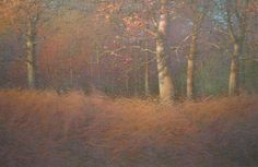 "Artist Lee a Kimball | October Oaks 20"" x 30"" 