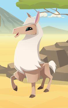 Animal Jam Llama