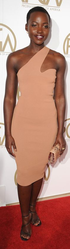 Lupita Nyong'o at the Producers Guild of America Awards