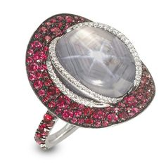 Gray Star Sapphire Ring by Kathrine Jetter