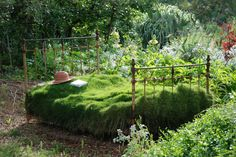 Magical ways to recycle furniture in your garden.