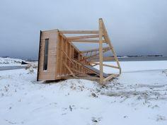#Sandhornøy #Salt #Salted  Håpa nu at de rydda litt opp etter sæ..