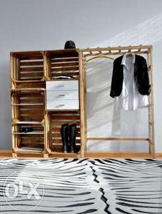 Garderoba Szafa Design Recycling Handmade MEble z palet Bydgoszcz - image 1