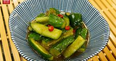 Pickled Cucumber - Asian Cucumber Salad Recipe by Julie - Mrs. Lin's Kitchen - Cookpad Cucumber Canning, Asian Cucumber Salad, Cucumber Recipes, Vinegar Cucumbers, Pickling Cucumbers, Pickles, Great Recipes, Side Dishes, Appetizers