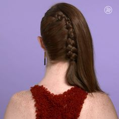 We've gathered our favorite ideas for A One Sided French Braid Video Hair Hair Styles Long, Explore our list of popular images of A One Sided French Braid Video Hair Hair Styles Long. Trendy Hairstyles, Braided Hairstyles, Fairy Hairstyles, Hairstyles Videos, Layered Hairstyles, Side French Braids, Wedding Hairstyles Tutorial, Bridesmaid Hairstyles, Tips Belleza